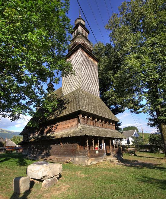 Holy Spirit Church, Kolochava, Zakarpattia region, Ukraine, photo 4