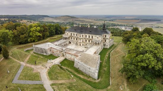 Pidhirtsi Castle, Lviv region, Ukraine, photo 1