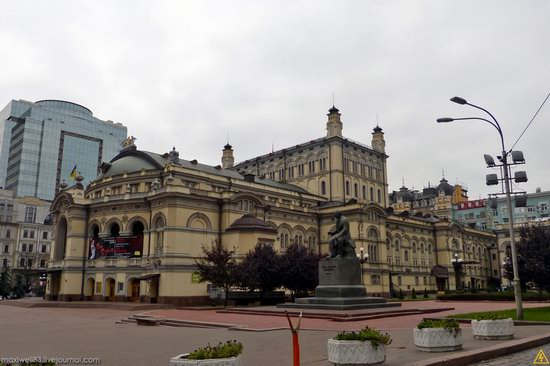 In the center of Kyiv, Ukraine, photo 19