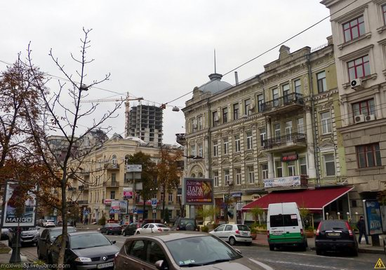 In the center of Kyiv, Ukraine, photo 22