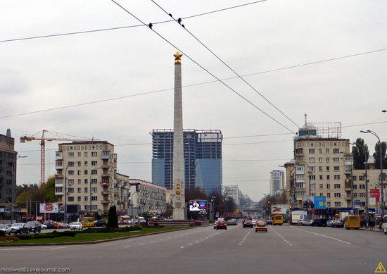 In the center of Kyiv, Ukraine, photo 27