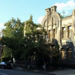 House of the Weeping Widow in Kyiv