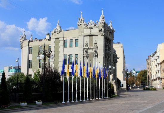 House with Chimeras, Kyiv, Ukraine, photo 1