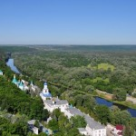 Svyatohirsk – a town with unique sights