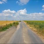 One hot summer day near Berdyansk