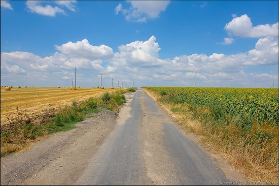Hot summer day near Berdyansk, Ukraine, photo 1