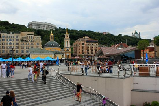 Podil neighborhood, Kyiv, Ukraine, photo 6