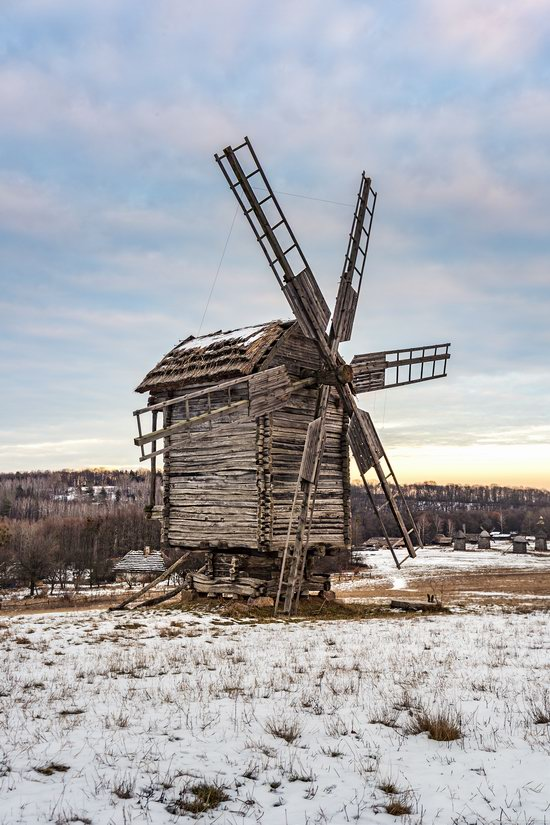 Windmills, Pyrohiv museum, Kyiv, Ukraine, photo 12