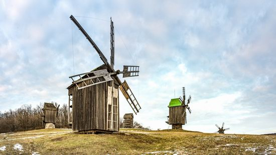 Windmills, Pyrohiv museum, Kyiv, Ukraine, photo 16