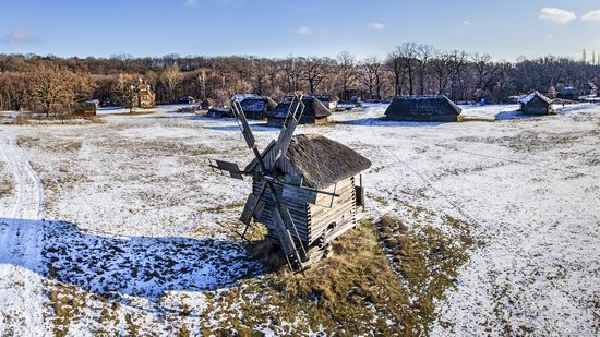 Windmills, Pyrohiv museum, Kyiv, Ukraine, photo 21