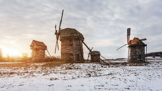 Windmills, Pyrohiv museum, Kyiv, Ukraine, photo 22