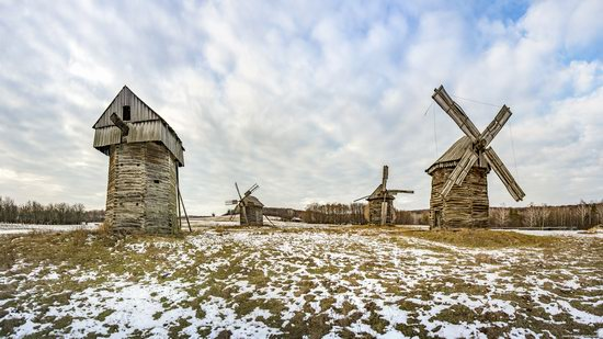 Windmills, Pyrohiv museum, Kyiv, Ukraine, photo 3