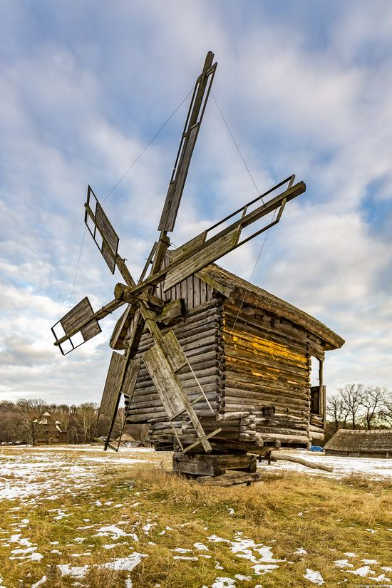 Windmills, Pyrohiv museum, Kyiv, Ukraine, photo 7