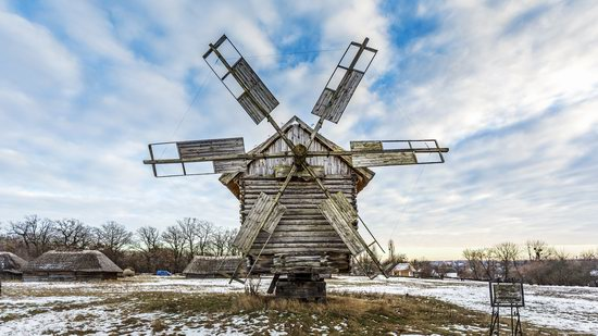 Windmills, Pyrohiv museum, Kyiv, Ukraine, photo 8