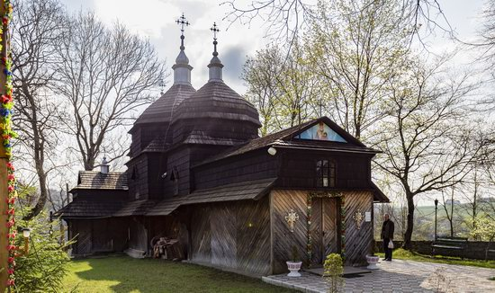 Wooden St. Nicholas Church, Sapohiv, Ukraine, photo 12