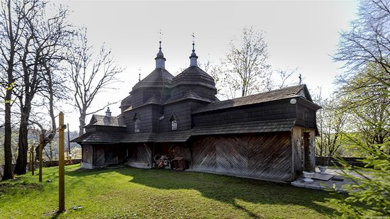 Wooden St. Nicholas Church, Sapohiv, Ukraine, photo 13