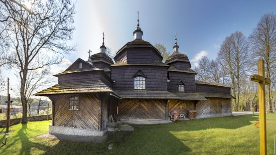 Wooden St. Nicholas Church, Sapohiv, Ukraine, photo 14