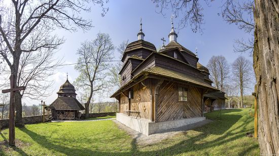 Wooden St. Nicholas Church, Sapohiv, Ukraine, photo 15