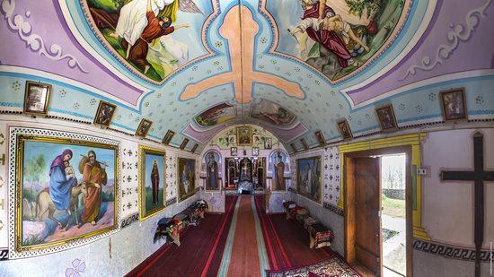 Wooden St. Nicholas Church, Sapohiv, Ukraine, photo 17