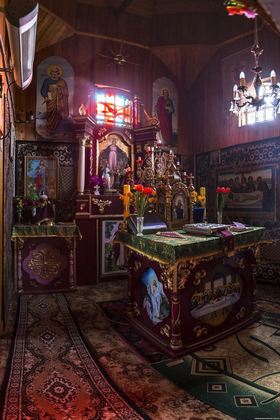 Wooden St. Nicholas Church, Sapohiv, Ukraine, photo 20