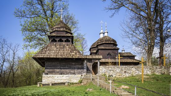 Wooden St. Nicholas Church, Sapohiv, Ukraine, photo 23