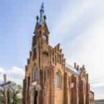 Neo-Gothic Catholic Church of St. Anna in Ozeryany