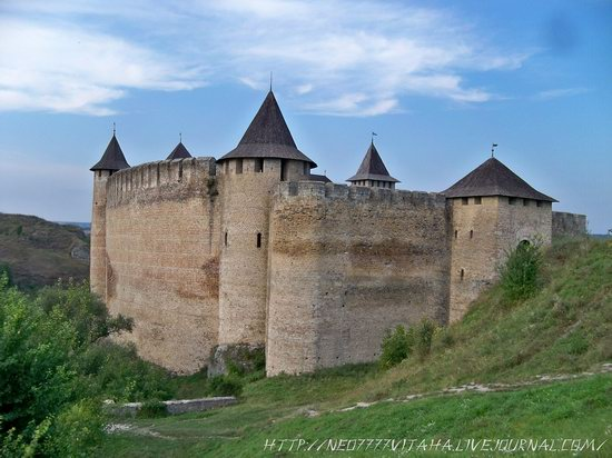 Khotyn Fortress in the Chernivtsi region, Ukraine, photo 5
