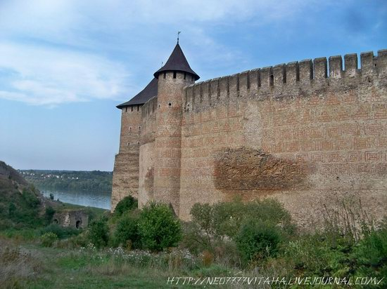 Khotyn Fortress in the Chernivtsi region, Ukraine, photo 8
