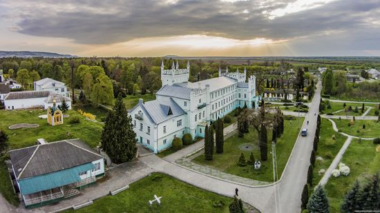 Neo-Gothic Castle in Bilokrynytsya, Ternopil region, Ukraine, photo 11
