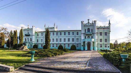 Neo-Gothic Castle in Bilokrynytsya, Ternopil region, Ukraine, photo 13