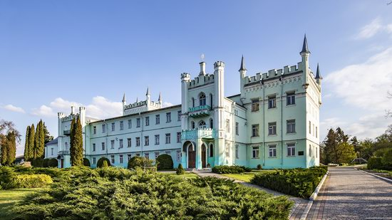 Neo-Gothic Castle in Bilokrynytsya, Ternopil region, Ukraine, photo 14