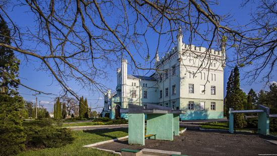 Neo-Gothic Castle in Bilokrynytsya, Ternopil region, Ukraine, photo 15