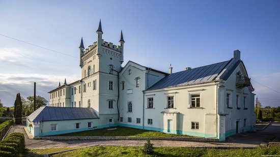 Neo-Gothic Castle in Bilokrynytsya, Ternopil region, Ukraine, photo 17