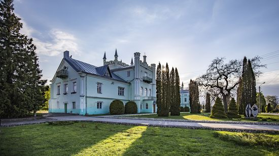 Neo-Gothic Castle in Bilokrynytsya, Ternopil region, Ukraine, photo 18