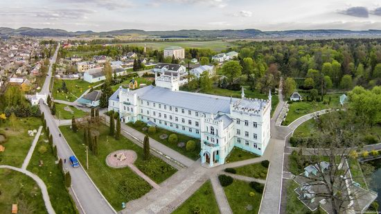 Neo-Gothic Castle in Bilokrynytsya, Ternopil region, Ukraine, photo 2