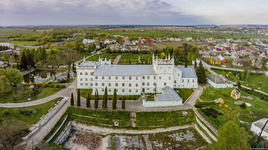 Neo-Gothic Castle in Bilokrynytsya, Ternopil region, Ukraine, photo 6