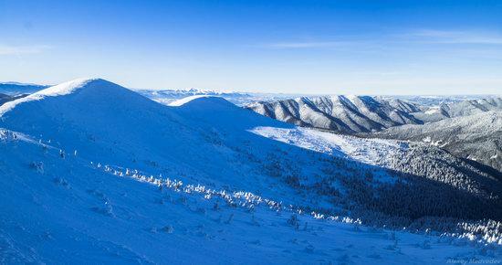 Winter on Pishkonya Range, Zakarpattia region, Ukraine, photo 1