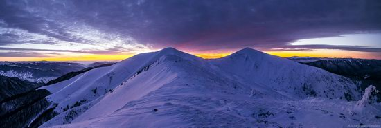 Winter on Pishkonya Range, Zakarpattia region, Ukraine, photo 11