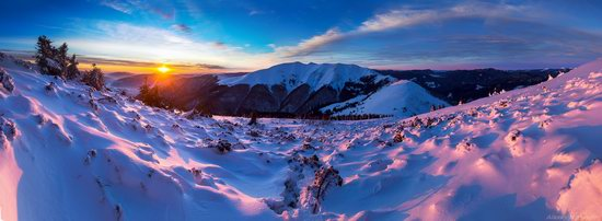 Winter on Pishkonya Range, Zakarpattia region, Ukraine, photo 19