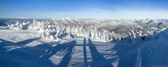 Winter on Pishkonya Range, Zakarpattia region, Ukraine, photo 2
