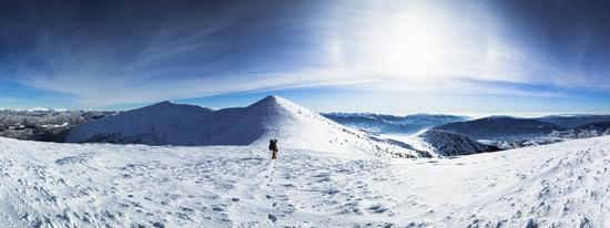 Winter on Pishkonya Range, Zakarpattia region, Ukraine, photo 4