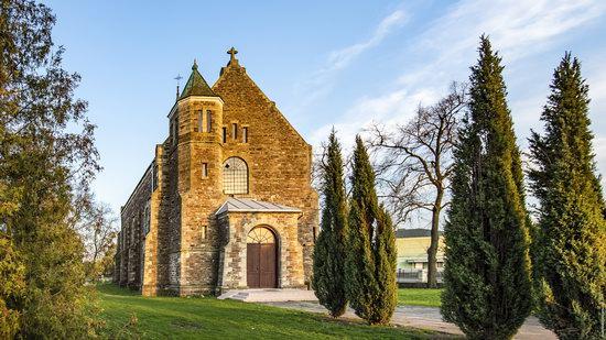 Church of Our Lady in Trybukhivtsi, Ternopil region, Ukraine, photo 1