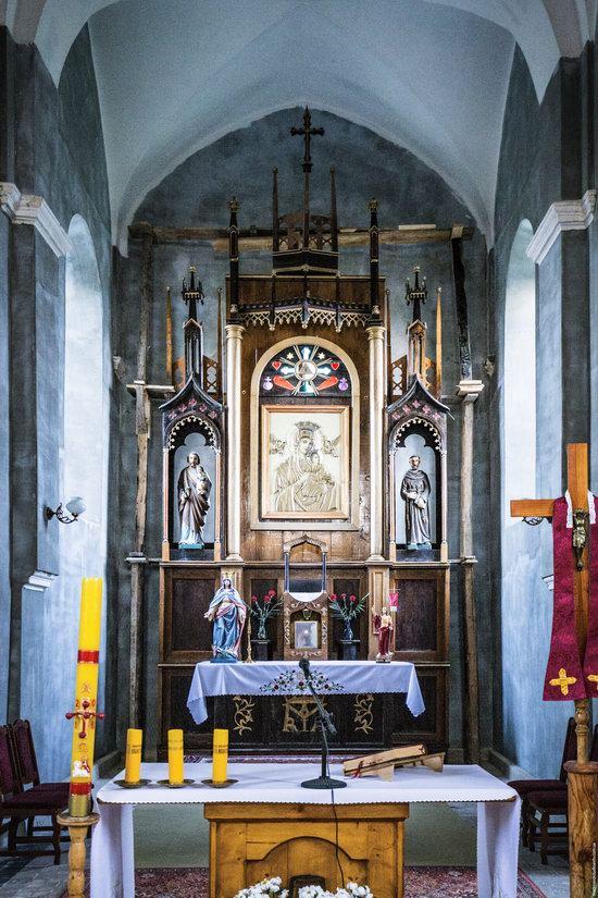 Church of Our Lady in Trybukhivtsi, Ternopil region, Ukraine, photo 12