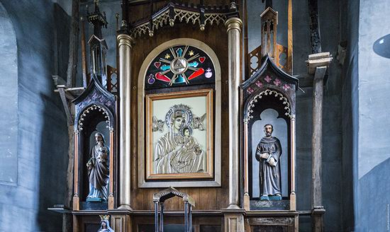Church of Our Lady in Trybukhivtsi, Ternopil region, Ukraine, photo 13