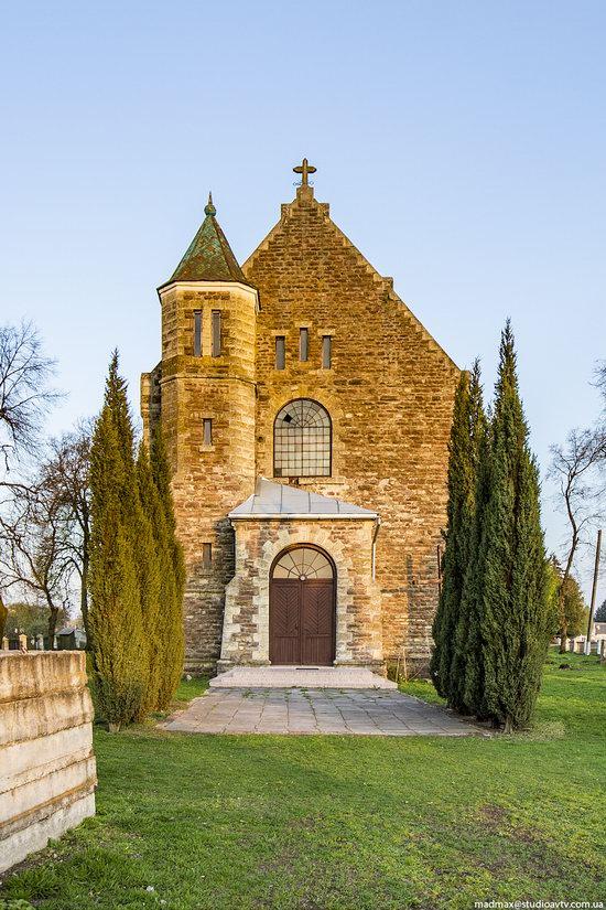Church of Our Lady in Trybukhivtsi, Ternopil region, Ukraine, photo 2
