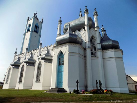Unusual Orthodox church in Moshny, Cherkasy region, Ukraine, photo 4