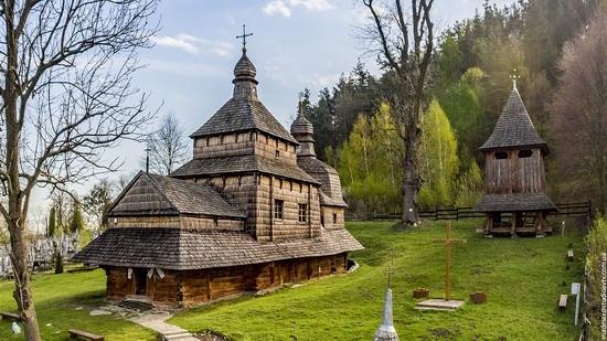 Oldest Wooden Church in the Lviv Region, Ukraine, photo 1