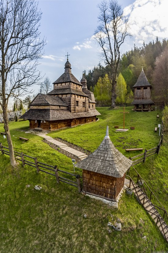 Oldest Wooden Church in the Lviv Region, Ukraine, photo 2