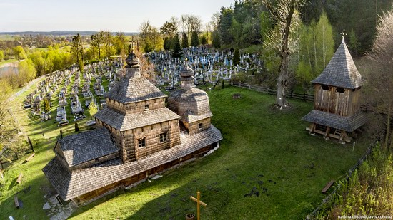 Oldest Wooden Church in the Lviv Region, Ukraine, photo 3