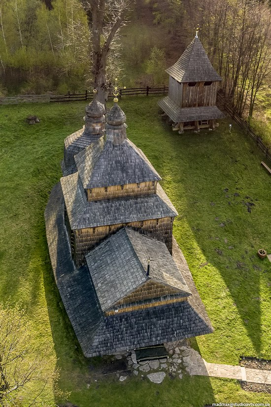 Oldest Wooden Church in the Lviv Region, Ukraine, photo 7